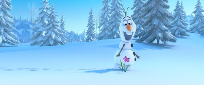 frozen snowman image