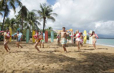 Disney's Teen Beach Movie on DVD Today! Clips included here.