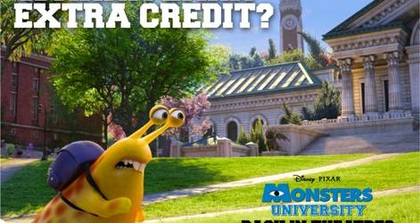 MONSTERS UNIVERSITY – Back in Theatres for Labor Day Weekend!!!
