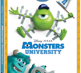 Announcement: Monsters University on Blu-ray Combo Pack on 10/29!