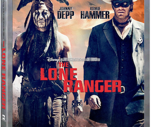 The Lone Ranger on Blu-ray Combo Pack is Riding in on 12/17