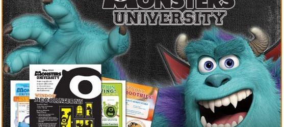 Mike and Sulley's Monstrous Halloween Activities!
