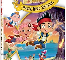 Jake and the Never Land Pirates: Never Land Rescue on DVD 11/19 with Clips