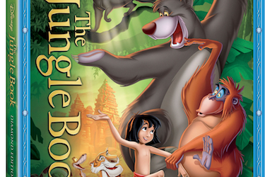 The Jungle Book: Diamond Edition Swings onto Blu-ray , DVD and Digital 2/11/14!!