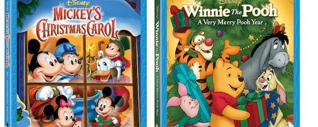 Mickey's Christmas Carol and Winnie the Pooh: A Very Merry Pooh Year on Blu-ray , 11/5