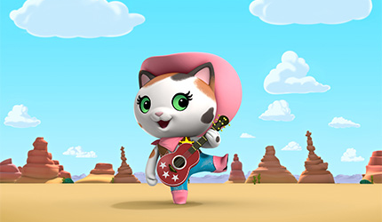 "Disney Junior's new animated series ""Sheriff Callie's Wild West"" – the first Western for preschoolers!"