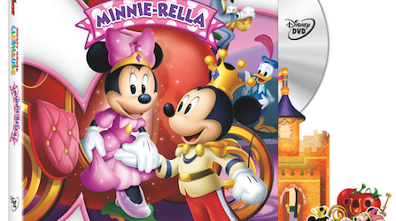Mickey Mouse Clubhouse: Minnie-rella on DVD 2/11