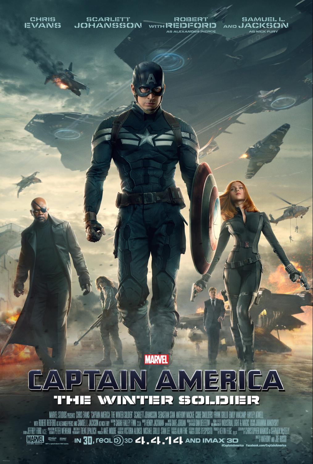 New Posters Now Available For Captain America The Winter Soldier