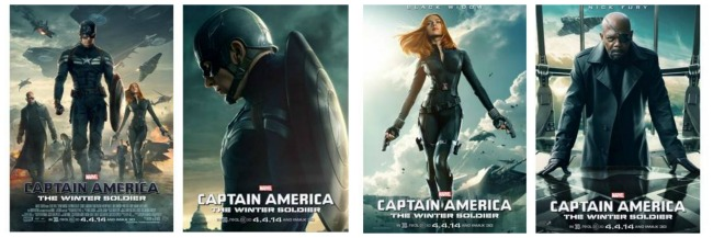 New Posters Now Available!!! for Captain America: The Winter Soldier