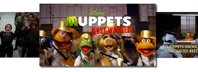 MUPPETS MOST WANTED – New Video Now Available!!!
