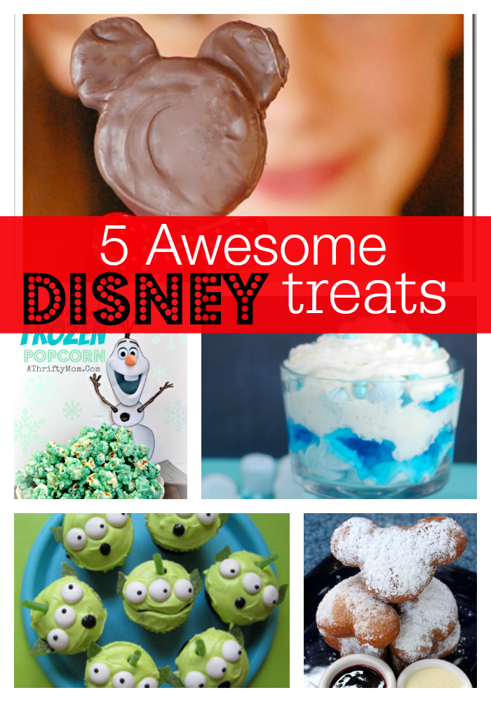 Disney, Disney Treats, Disney Party Ideas