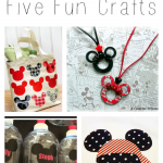 5 Fun Disney Crafts