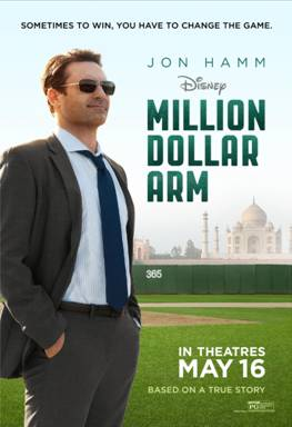 #MillionDollarArm, Disney, Million Dollar Arm